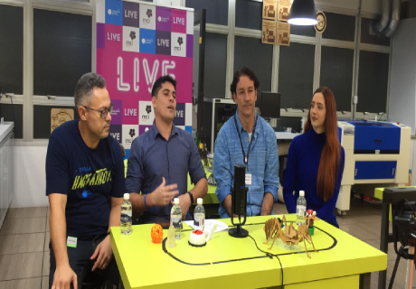 LIVE da Campus Party com participação do Professor Marcelo Dias
